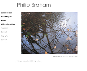 The official website of Philip Braham, Scottish artist and photographer based in Edinburgh. Featuring galleries of his work, biography and more.